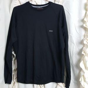 Patagonia black Capilene long sleeve shirt